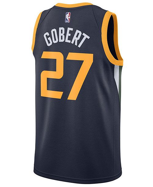 Nike Men's Rudy Gobert Utah Jazz Icon Swingman Jersey