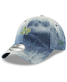 New Era Oakland Athletics Denim Wash Out 9TWENTY Cap