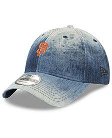 New Era San Francisco Giants Denim Wash Out 9TWENTY Cap