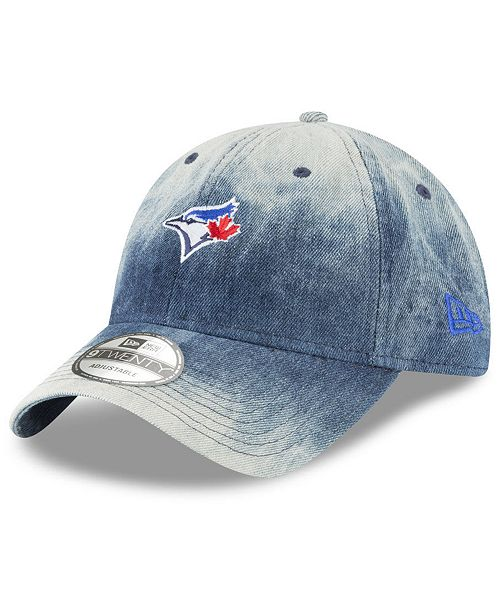 6f3a52e0bd319 ... New Era Toronto Blue Jays Denim Wash Out 9TWENTY Cap ...