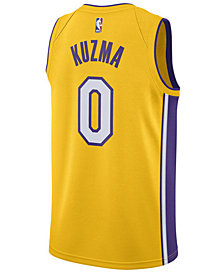 Nike Men's Kyle Kuzma Los Angeles Lakers Icon Swingman Jersey