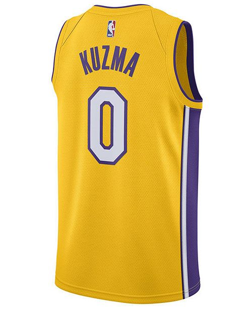 ... Nike Men s Kyle Kuzma Los Angeles Lakers Icon Swingman Jersey ... 60bb5d028