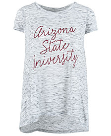 Royce Apparel Inc Women's Arizona State Sun Devils Script Viscose Crew T-Shirt