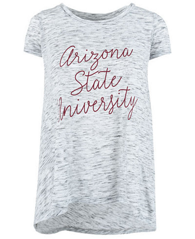 Royce Apparel Inc Women's Arizona State Sun Devils Script Viscose Crew T-Shirt