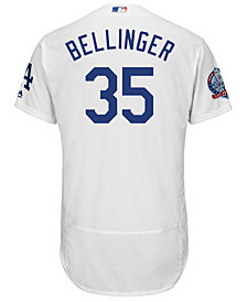 Majestic Men's Cody Bellinger Los Angeles Dodgers Flexbase 60th Anniversary Patch Jersey