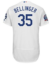 09ab40f7f69f Majestic Men s Cody Bellinger Los Angeles Dodgers Flexbase 60th Anniversary  Patch Jersey