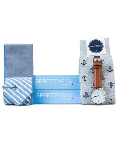 SprezzaBox Men's Nautical Set