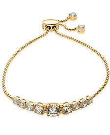 Danori Crystal Slider Bracelet, Created for Macy's