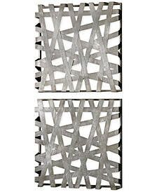 Uttermost Alita Squares Wall Art, Set of 2
