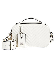 Steve Madden Phoebe Top-Handle Camera Crossbody