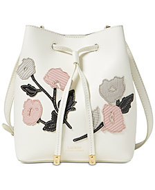 Lauren Ralph Lauren Dryden Debby Mini Bucket Crossbody