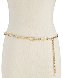 INC Metal Chain Belt, Created for Macy's