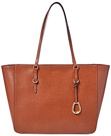 Lauren Ralph Lauren Bennington Leather Tote