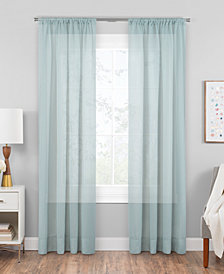 "Hudson Hill Voile 59"" x 95"" Rod Pocket Window Panel"