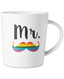 Pfaltzgraff Mr. Mustache Mug, Created for Macy's