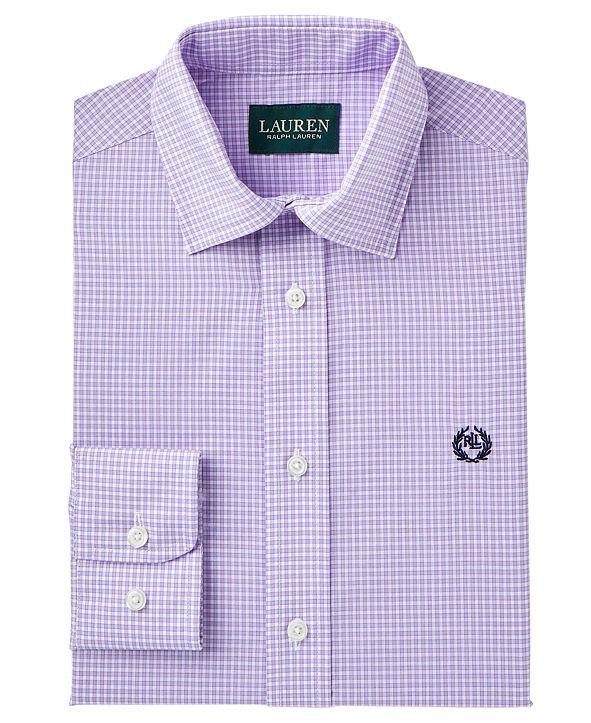 Lauren Ralph Lauren Checked Dress Shirt, Big Boys