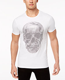 Sean John Men's Opulent End Rhinestone T-Shirt, Created for Macy's