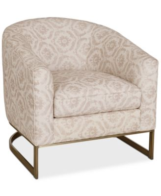 Jennova Fabric Accent Chair, Created For Macy's