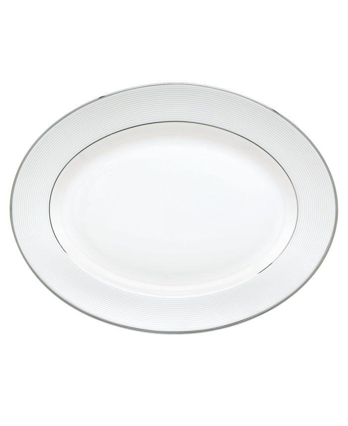 Lenox - Opal Innocence Stripe Medium Oval Platter