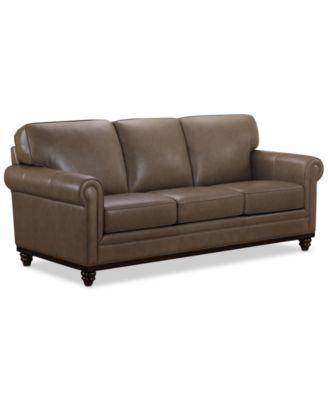 "Bradyn 89"" Leather Sofa, Created for Macy's"