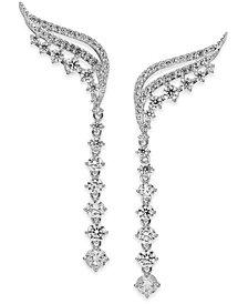 Danori Crystal and Pavé Ear Climbers, Created for Macy's