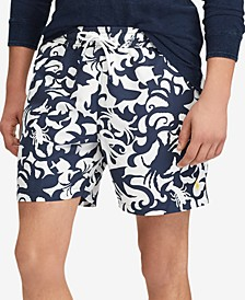 "Men's 5-3/4"" Traveler Swim Trunks"