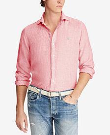 Polo Ralph Lauren Men's Classic Fit Linen Sport Shirt