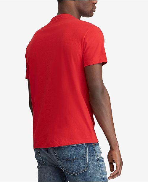 4f6f15f289 Polo Ralph Lauren Men s V-Neck T-Shirt   Reviews - T-Shirts - Men ...