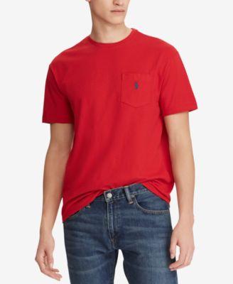 Men's Crew Neck Pocket T-Shirt
