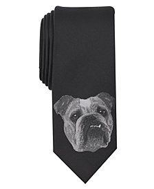 Bar III Men's Bulldog Tie, Created for Macy's