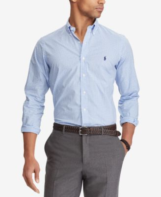 Men's Classic Fit Poplin Shirt