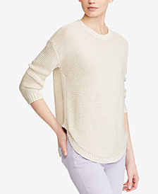 Lauren Ralph Lauren Ribbed Crewneck Sweater