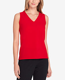 Tahari ASL V-Neck Shell