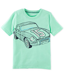 Carter's Race Car Graphic-Print Cotton T-Shirt, Little Boys