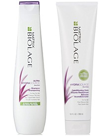 Biolage HydraSource Shampoo, 13.5-oz. & Conditioner, 9.5-oz. (Two Items), from PUREBEAUTY Salon & Spa