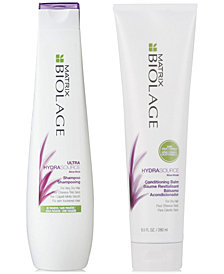 Matrix Biolage HydraSource Shampoo, 13.5-oz. & Conditioner, 9.5-oz. (Two Items), from PUREBEAUTY Salon & Spa