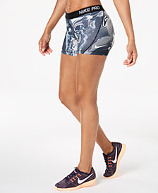 Nike Pro Dri-FIT Printed Shorts