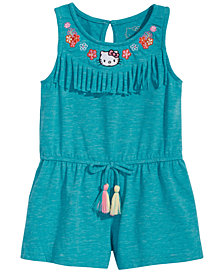 Hello Kitty Baby Girls Fringe Romper