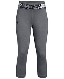 Under Armour HeatGear® Heathered Capri Leggings, Big Girls