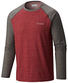 Columbia Men's Thistletown Park Performance Raglan-Sleeve T-Shirt