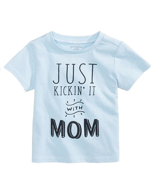 dffbd83ab First Impressions Kickin  It With Mom Cotton T-Shirt