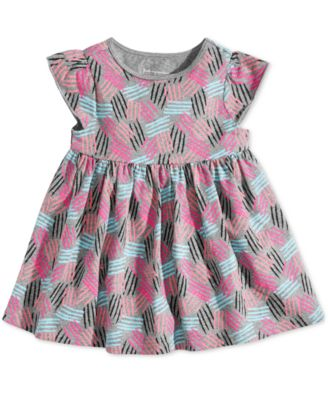 Baby Girls Printed Cotton Tunic, Created for Macy's