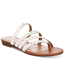 Style & Co Barrees Strappy Flat Sandals, Created for Macy's