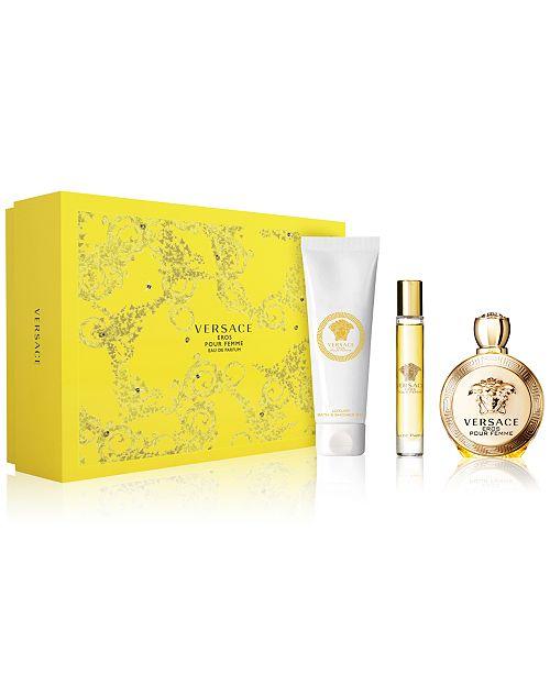 Versace Eros Pour Femme 3-Pc. Gift Set - All Perfume - Beauty - Macy s e35bdf9e0349