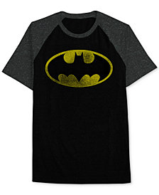 Hybrid Apparel Men's Batman Raglan T-Shirt