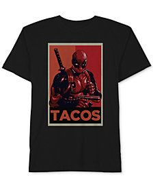 Deadpool Tacos Men's T-Shirt by Hybrid Apparel