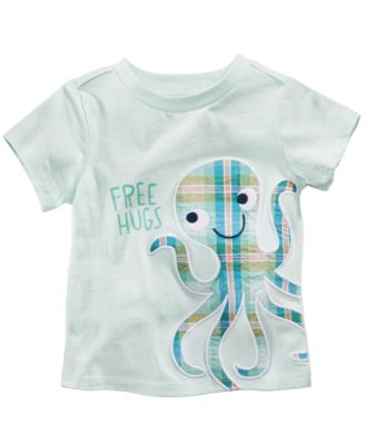 Octopus-Print Cotton T-Shirt, Baby Boys, Created for Macy's