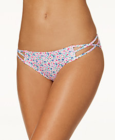 Sundazed Stunner Strappy Hipster Bikini Bottoms, Created for Macy's