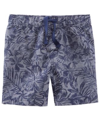 Printed Cotton Shorts, Baby Boys, Created for Macy's