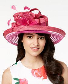 August Hats Citrine Romantic Dressy Hat
